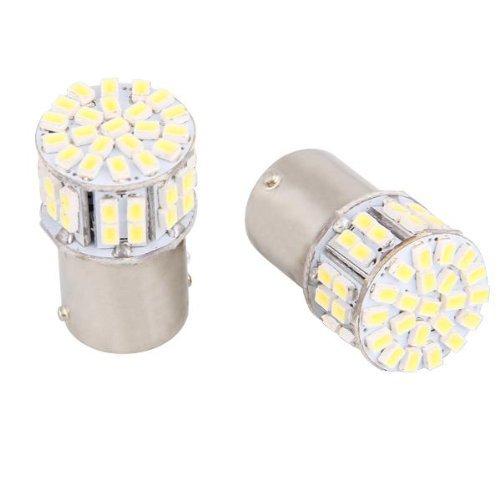 2X 1156 SMD 50 LED Ampoule Lampe Feu Clignotant Blanc 12V Auto