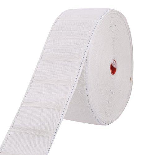 DealMux Nylon Haushalt Schlafzimmer Badezimmer Vorhang Gardinenband Gürtel Rolle 27 Yards Weiß