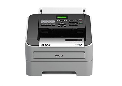 Brother – Faxgerät (Laser, Fein, Foto, Standard, Superfein, 33,6 Kbit/s, 300 x 600 dpi, 20 cpm, 99 Kopien) schwarz, grau, Dutch Version