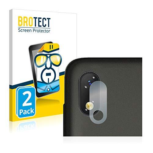 BROTECT Schutzfolie kompatibel mit ZTE Blade A530 (NUR Kamera) (2 Stück) klare Bildschirmschutz-Folie