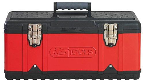KS Tools 850.0350 Kunststoff-Stahlblech-Werkzeugkiste, 470x238x203mm