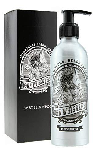John Whiskers Bartshampoo - Made in Germany – 2in1 Bartseife mit unvergleichbarem Duft – Vegan & ohne Silikone - für einen geschmeidigen und reinen Bart