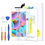 Yodoit para Pantalla iPhone 6s Blanco, Conjunto de Pantalla LCD y digitalizador Reemplazo de la Pantalla táctil de Vidrio con Marco + Kit de Herramientas de reparación (4,7 Pulgadas)