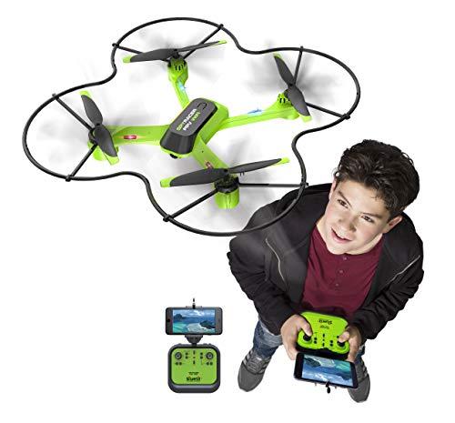 Flybotic by Silverlit - Spy Racer Wifi 36 cm - Drone avec Caméra pour Vue en Immersion - Jouet Volant - Utilisation Intérieure/Extérieure