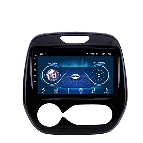 LHMYHHH El Reproductor Multimedia para Automóvil Es Adecuado para Renault Bean Kaptur 2011-2016 Android Car con Navegación GPS Bluetooth Máquina Integrada Navegación Táctil Completa 1G + 16GB
