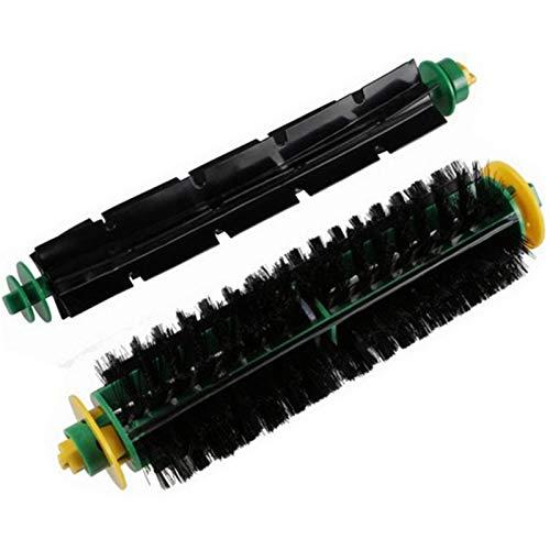 L-Yune, 1 Juego de Accesorios Kit Cerda + batidor Flexible cepillos for Roomba Serie 500 528 530 532 527 535 540 555 560 562 Vacuu1s
