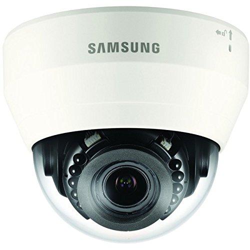 Samsung qnd-7080r IP Security Camera Innenraum Kuppel Elfenbein Sicherheit Kameras