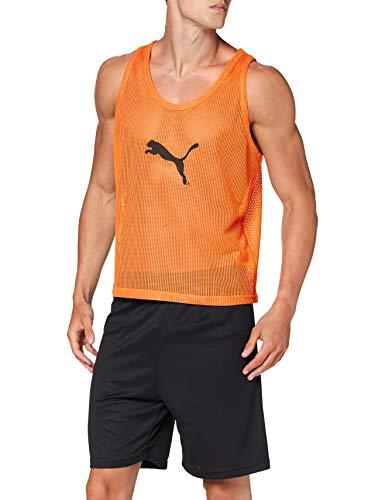 PUMA Bib Petos, Hombre, Naranja (Fluor Orange), XL