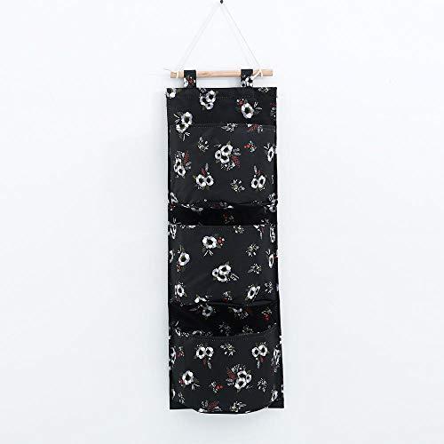 YUWO Opbergtas, Oxford-doek voor hangers, kleur Oxford-doek, opbergetui, opbergreep, achteraan hangen, meerlaagse opbergtas, opbergtas