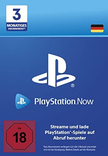 PlayStation Now - Abonnement 3 Monate (deutsches Konto)   PS5/PS4/PS3 Download Code - deutsches Konto