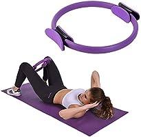 Chanhan Core Balance Pilates Resistance Ring, Dual Grip Magic Oefening Cirkel, Dubbel Handvat Dij Arm Toner, Fysieke...