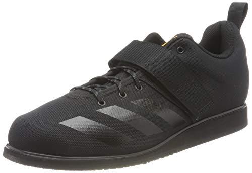 adidas Powerlift 4, Sneaker Hombre, Core Black/Core Black/Solar Gold, 43 1/3 EU
