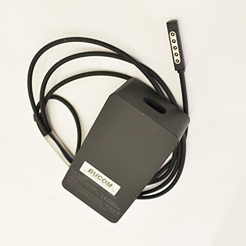 Bucom Netzteil Ladegerät USB AC Adapter Charger Power Supply für Microsoft Surface1536 Pro Pro2 RT Win8 Tablet 12V 3.6A 48W