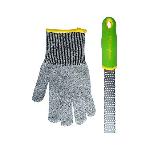 Microplane Kid#039s Cooking Gift Set  Glove and Zester