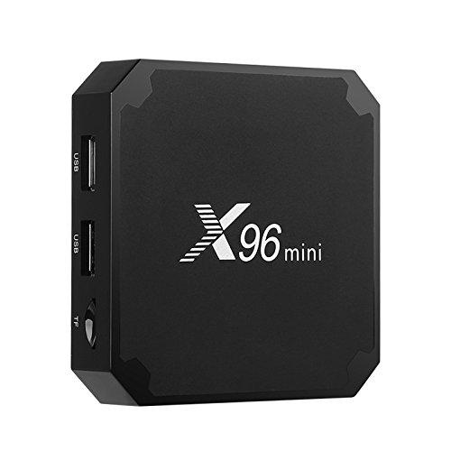 X96 Mini TV Box 3D Media Support 4K WiFi Quad-Core CPU Kodi 17 DNLA Android 7.1