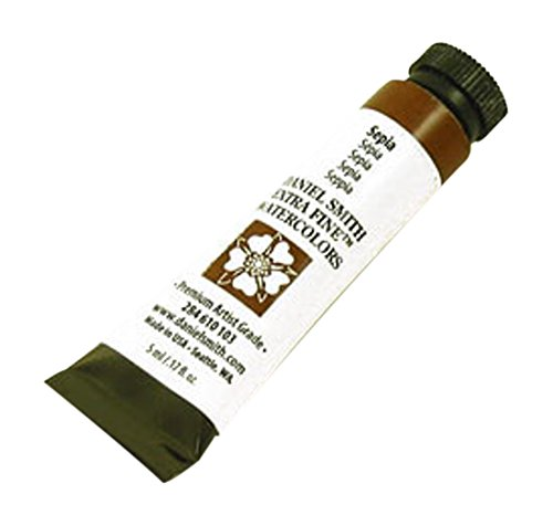 DANIEL SMITH 284610103 Extra Fine Watercolors Tube, 5ml, Sepia
