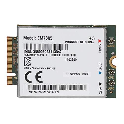 Netwerkkaart, draadloze EM7305 LTE NGFF-interface Netwerkkaart 4G FDD LTE WiFi-kaart Ondersteuning voor GPS 4G LTE-netwerken NGFF-interface