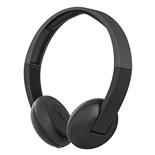 TEMP Kopfhörer Hybrid Digital Dual Noise Cancelling Bluetooth-Headset, aktive Rauschunterdrückung Long Standby-Sprachsteuerung Anrufbar, geeignet für Telephones Tablets Computer-Black