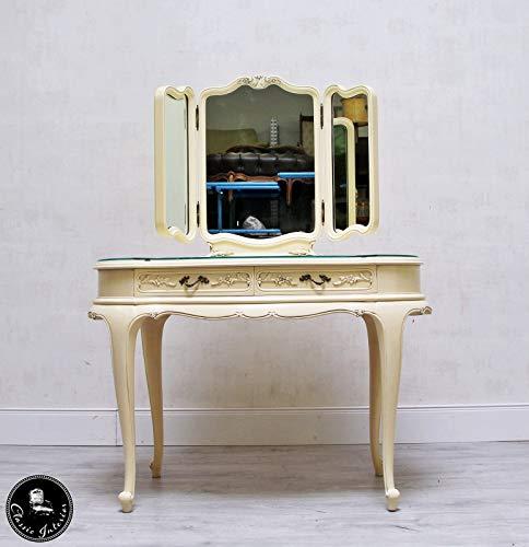 Classic Interior Schminktisch Kosmetiktisch Frisiertisch Spiegel Spiegelkommode