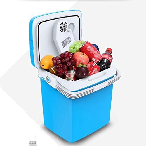 Waart Draagbare koelbox, 26 liter, 12 V/220 – 240 V, koelkast met koel- en verwarmingsfuncties voor auto, boot, huis en kantoor