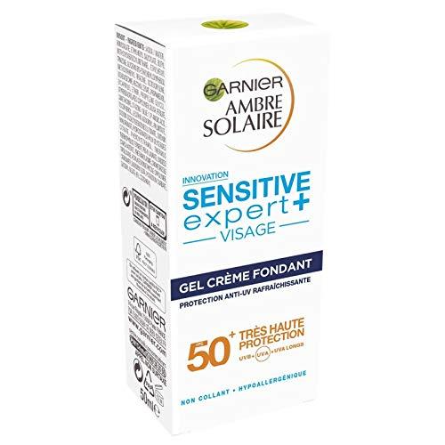 AMBRE SOLAIRE - Sensitive Gel Crème Ip50 Tube 50Ml - Lot De 2 - Livraison Gratuite