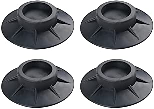 4PCS Shock and Noise Cancelling Washing Machine Support, Washing Machine Anti Vibration Pads, Dryer and Washing Machine Rubber Foot Pads, Protect the Floor-Washing Machine Accessories