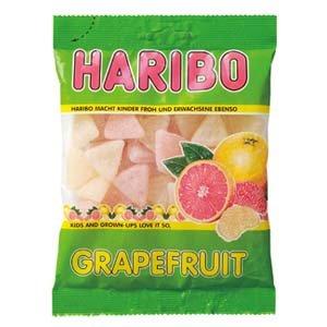 ハリボー グレープフルーツ (グミキャンディ) 200G × 30袋
