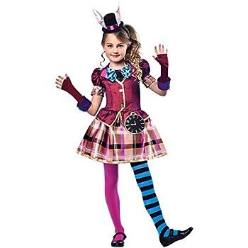 Magic Box Disfraz de señorita señorita Sombrerero Loco Small (5-6 ...