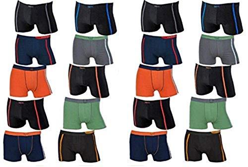 REMIXX 20 Stück Herren Boxershorts günstig im Farbsortiment (M)