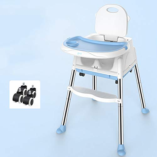 Best Review Of Ping Bu Qing Yun Baby high Chair - Stainless Steel/Food Grade pp, 6 Months - 3 Years ...