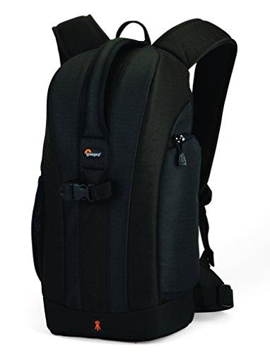 Lowepro Flipside 200 SLR-Kamerarucksack (für SLR mit 80-200-mm-Objektiv und bis zu 3 zusätzliche Objektive) Schwarz (Black)