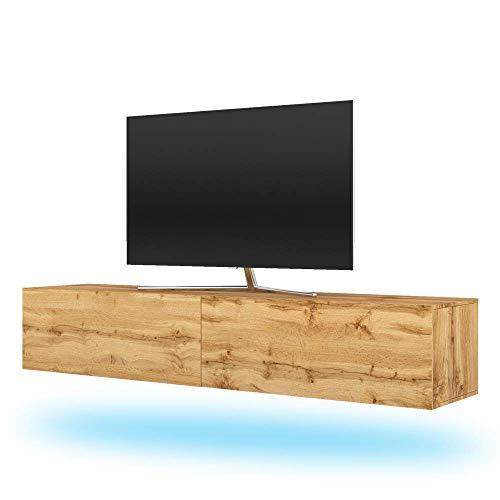 Selsey TV-Lowboard, Wotan Eiche, 200 cm