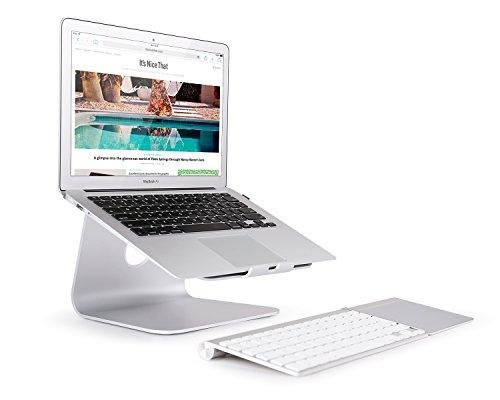 """Bettery Notebookhalterung Laptopständer für MacBook / MacBook Air / MacBook Pro / Notebooks \""""Aluminium\"""" - SILBER"""