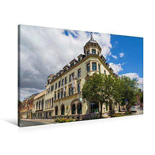 Premium Textil-Leinwand 90 x 60 cm Quer-Format Hotel Kaiserhof | Wandbild, HD-Bild auf Keilrahmen, Fertigbild auf hochwertigem Vlies, Leinwanddruck von Dirk Meutzner