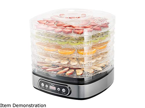 Best Prices! Rosewill RHFD-19001 5 Trays Height Adjustable Food dehydrator