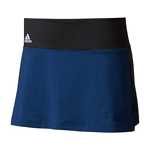 Adidas - Gonna da tennis Essex da donna, Donna, S1707W954, Mistero Blu/Nero, XL