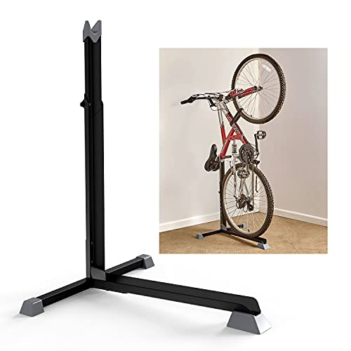 Bicycle Bike Stand, Home Portable Stationary Space-Saving Rack with Adjustable Height for Indoor...