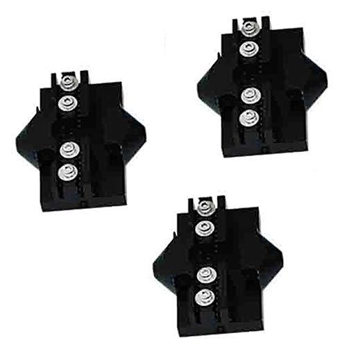 Stampante 3D Delta Puleggia Slide Hammock Effector Appeso - M3-20 * 20mm Nero Rostock KosselMini Carrello Slider Cinghia di distribuzione Tensionatore M3 M4 per MGN12H