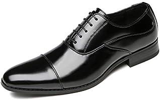 [フォクスセンス] ビジネスシューズ 革靴 軽量・撥水 ドレスシューズ ストレートチップ 紳士靴 内羽根 メンズ