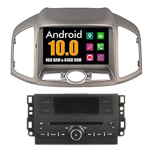 Quod Core Android System 8 Zoll Auto-DVD-Player für Chevrolet Captiva 2011 2012 2013 2014 mit Autoradio GPS Navigation Radio Stereo Bluetooth SD USB Spiegel Link Touch Bildschirm