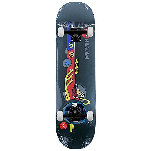 Almost Skateboards Haslam Wacky Races impatto Light Pro complete skateboard 21,6cm