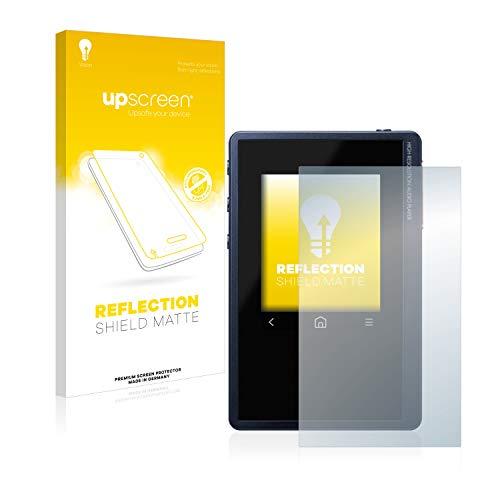 upscreen Entspiegelungs-Schutzfolie kompatibel mit Pioneer XDP-02U – Anti-Reflex Bildschirmschutz-Folie Matt