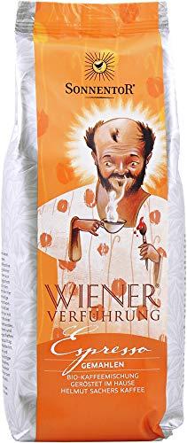 Sonnentor Bio Espresso Kaffee gemahlen Wiener Verführung bio (2 x 500 gr)