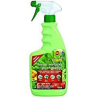 Compo Axiendo Insecticida ultrapolivalente, para Plantas de Interior y Exterior, Envase pulverizador, Efecto Duradero, 750 ml
