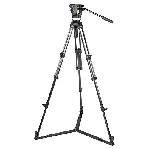 Sachtler Stativ mit Star Sockel für Kameras max Höhe 173cm Schwarz acelgscf-eu