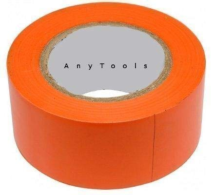 Klebeband PVC 50mm x 33m orange rückstandsfrei