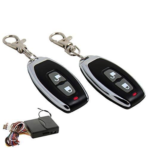 IP698 Télécommande Radio pour VW Passat 35I Polo Plug 'n Play avec Clignotant Chromé