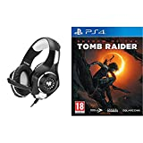 Primary kind of gaming headset, perfect for playing games, listening music, etc. Soft cushion head-pad and ear-pad, as well as adjustable length hinges guarantee hours of gaming comfort Delivers clear sound and Deep Bass for Real Game. Little smart i...