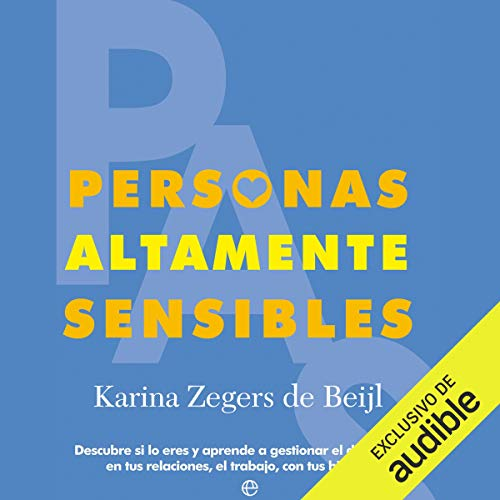 Couverture de Personas Altamente Sensibles [Highly Sensitive People]