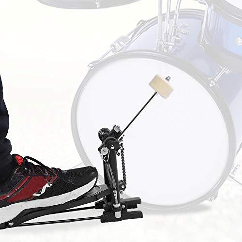 Schlagzeugpedal Bassdrum Pro Einzelpedal für Schlagzeug, Drum Pedal Jazz Trommel und Bassdrum Beater Schlaginstrument Pedals, 35 x 32.5 x 10 cm
